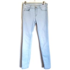 zara trafaluc skinny jeans light wash size 6